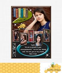 senior yearbook ad templates retro yearbook ad template for high school senior middle