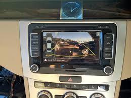 volkswagen reversing camera badge golf passat cc beetle oem
