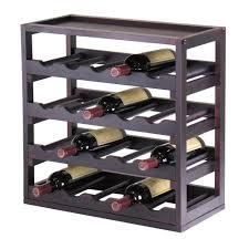 brown wine racks kitchen u0026 dining room furniture the home depot