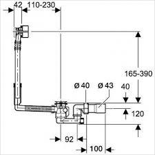 Bathtub Drain Mechanism Diagram Aqs Bathrooms Online Store Geberit Bathtub Drain With Turn