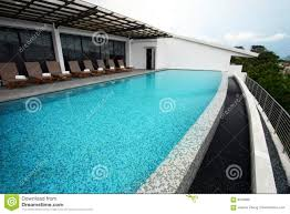 infinity pool design roof top of resort hotel stock photo image royalty free stock photo