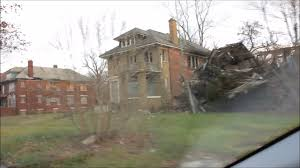 detroit u0027s ghettos of former beautiful homes youtube