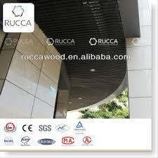 rucca wpc compound outdoor suspended ceiling pvc architeture