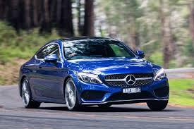blue mercedes mercedes benz c200 coupe quick review