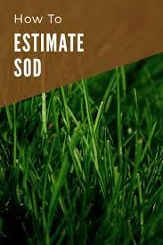 Sod Estimate by Sod Calculator And Price Estimator Inch Calculator