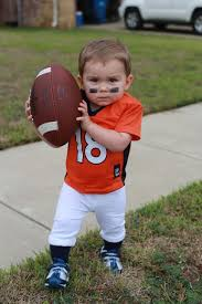 Halloween Costume Football Player Toddler Halloween Costume Diy Football Player Broncos Payton