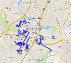 Map Austin Texas by The Hurly Burly Burleson Heights Neighborhood In Austin Texas