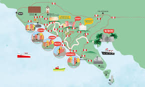 Manarola Italy Map by Home Explora5terre