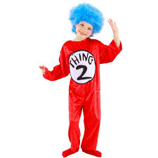 dr seuss thing 1 or 2 child costume buycostumes com