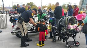 slcpd holds halloween party for kids gephardt daily