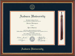 auburn diploma frame auburn tassel edition diploma frame in newport item