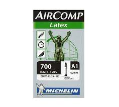 chambre a air 700 23c michelin chambre à air route a1 aircomp 700x22 23 valve presta