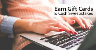 earn gift cards earn gift cards sweepstakes free sweepstakes contests