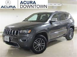 jeep cherokee grey 2017 2017 jeep grand cherokee limited limited parking sensors cars