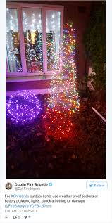 outdoor sockets for christmas lights from not watering trees to overloading sockets ireland s top fire