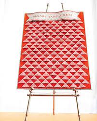 Red Rocks Seat Map Diy Seating Cards And Displays Martha Stewart Weddings