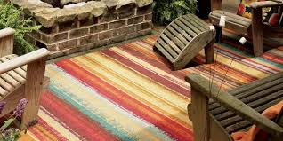 Stripe Indoor Outdoor Rug Outdoor Rugs Goodworksfurniture