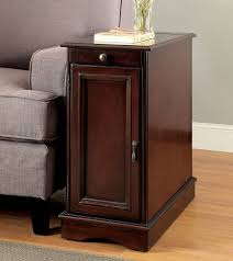 side table with power outlet lilith i side table w usb and power outlet cherry end tables
