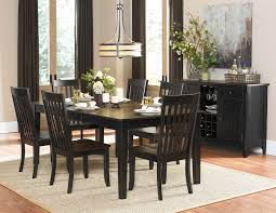 homelegance three falls 7 piece rectangular dining room set in