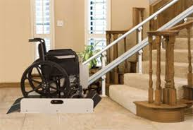 looking for a wheelchair or stair lift installation services or repair