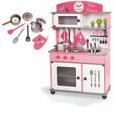 maxi cuisine mademoiselle janod cuisiniere en bois 1343729