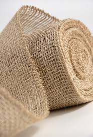 burlap ribbon burlap 4in x 10 yds