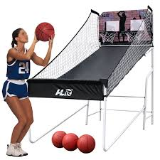 amazon com hlc sports double shot 8 in 1 two player arcade