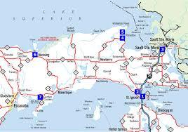 peninsula michigan map map of the up of michigan michigan map