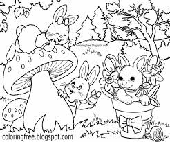 rabbit color pages beautiful rabbit coloring outlines coloring