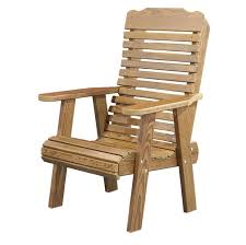 Wooden Outside Chairs Outdoor Wooden Chairs With Arms