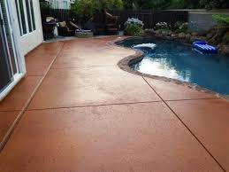 pool deck paint ideas gorgeous decorative concrete pool deck