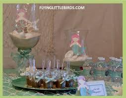 little mermaid baby shower afoodaffair me