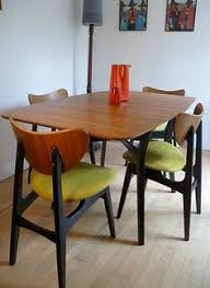 Wood Dining Room Tables And Chairs Retro Vintage Teak Mid Century Danish Style Dining Table Eames Era