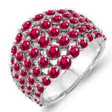 amazon com 4 75 carats ruby rings for women