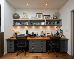 Beautiful Home Offices Great Double Office Desk Interior Design Beautiful Home Office