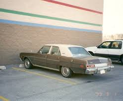 dodge dart plymouth curbside 1976 plymouth valiant brougham least likely