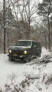 a winter ride outdoors jeep truck rigs and 4x4