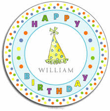 personalized melamine platter personalized gifts for kids