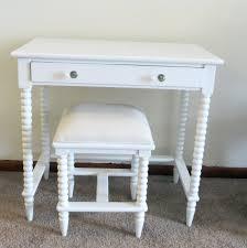 Small Vintage Desks Eccentric Modern Black White Industrial Small Vanity Desk For