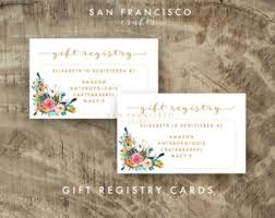 gift registry for bridal shower gift registry card baby shower gift registry baby shower