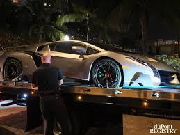 Lamborghini Veneno Roadster Owners - 4 1 million lamborghini veneno delivered to manager u0027s house in