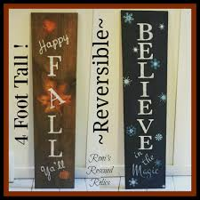 these reversible signs are so popular these days for the porch or