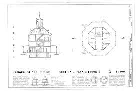octagonal house plans file armour stiner house 45 west clinton avenue irvington
