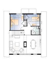 house plan familyhomeplans frame house plan level two