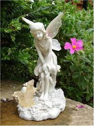 fiona garden ornament with solar light up features