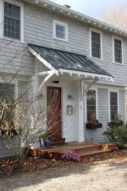 How To Build A Wood Awning Over A Deck Best 25 Front Door Porch Ideas On Pinterest House Painting Tips
