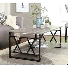 Coffee Tables Rustic Wood Rustic Wood Living Room Furniture Reclaimed Wood And Metal Table