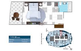 floor plan studio type o2 tower floor plans