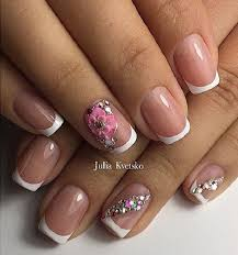 184 best french nails images on pinterest spring nails french