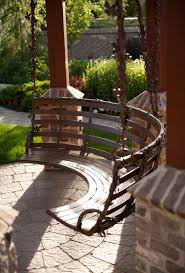 Porch Swing Fire Pit by Backyard Porch Patio Swing Backyard Pinterest Backyard